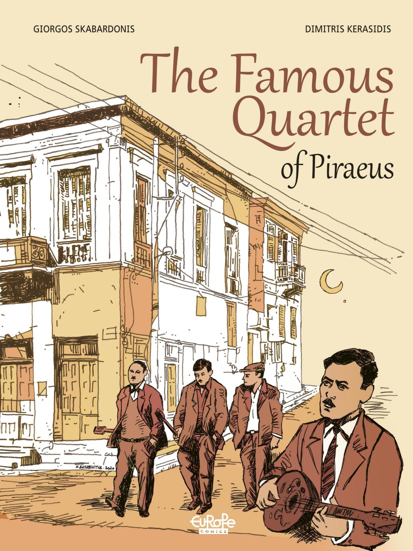The Famous Quartet of Piraeus (Europe Comics 2021) (webrip) (MagicMan-DCP