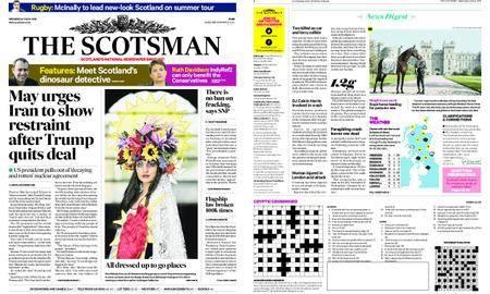 The Scotsman – May 09, 2018