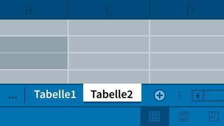 Video2Brain - Excel 2016: Mehrere Arbeitsmappen und Arbeitsblätter