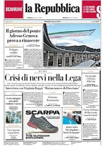 la Repubblica - 4 Agosto 2020