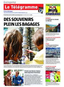 Le Télégramme Guingamp – 14 août 2019