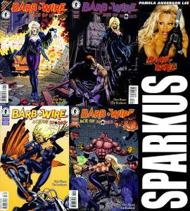 Barb Wire - Ace of Spades - 4 Comics