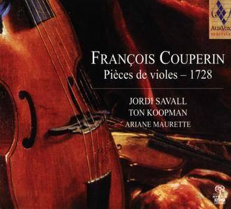 Jordi Savall, Ton Koopman, Ariane Maurette - Francois Couperin - Pieces de violes - 1728 (2012) {Alia Vox AVSA9893}