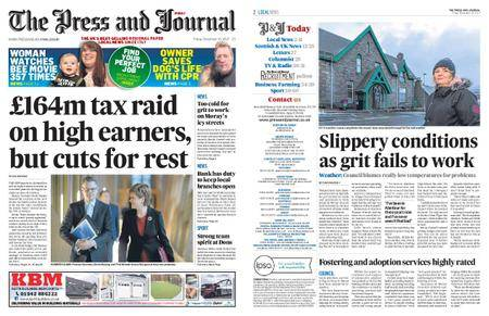 The Press and Journal Moray – December 15, 2017