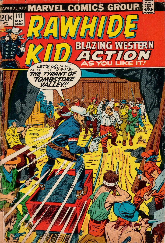 Rawhide Kid v1 111 1973