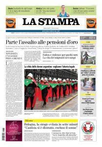 La Stampa Torino Provincia e Canavese - 8 Agosto 2018