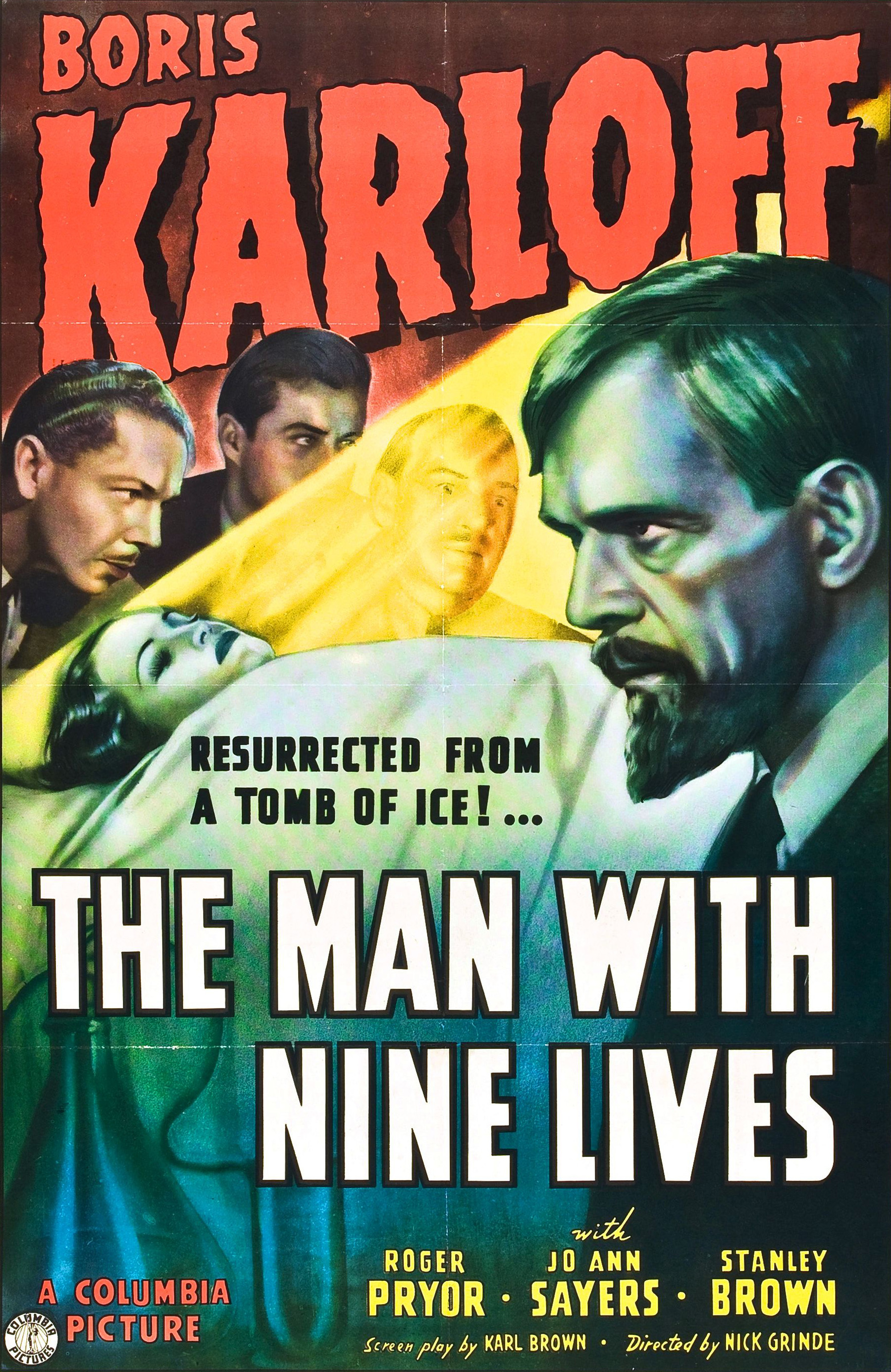 The Man with Nine Lives (1940)