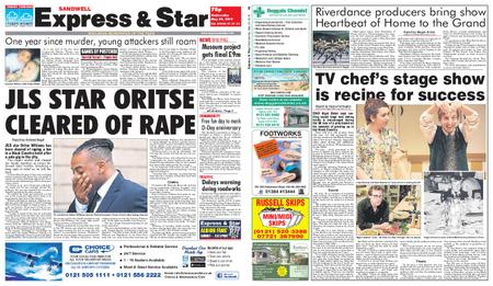 Express and Star Sandwell Edition – May 29, 2019