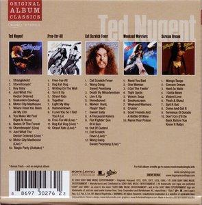 Ted Nugent Original Album Classics 2008 5cd Box Set