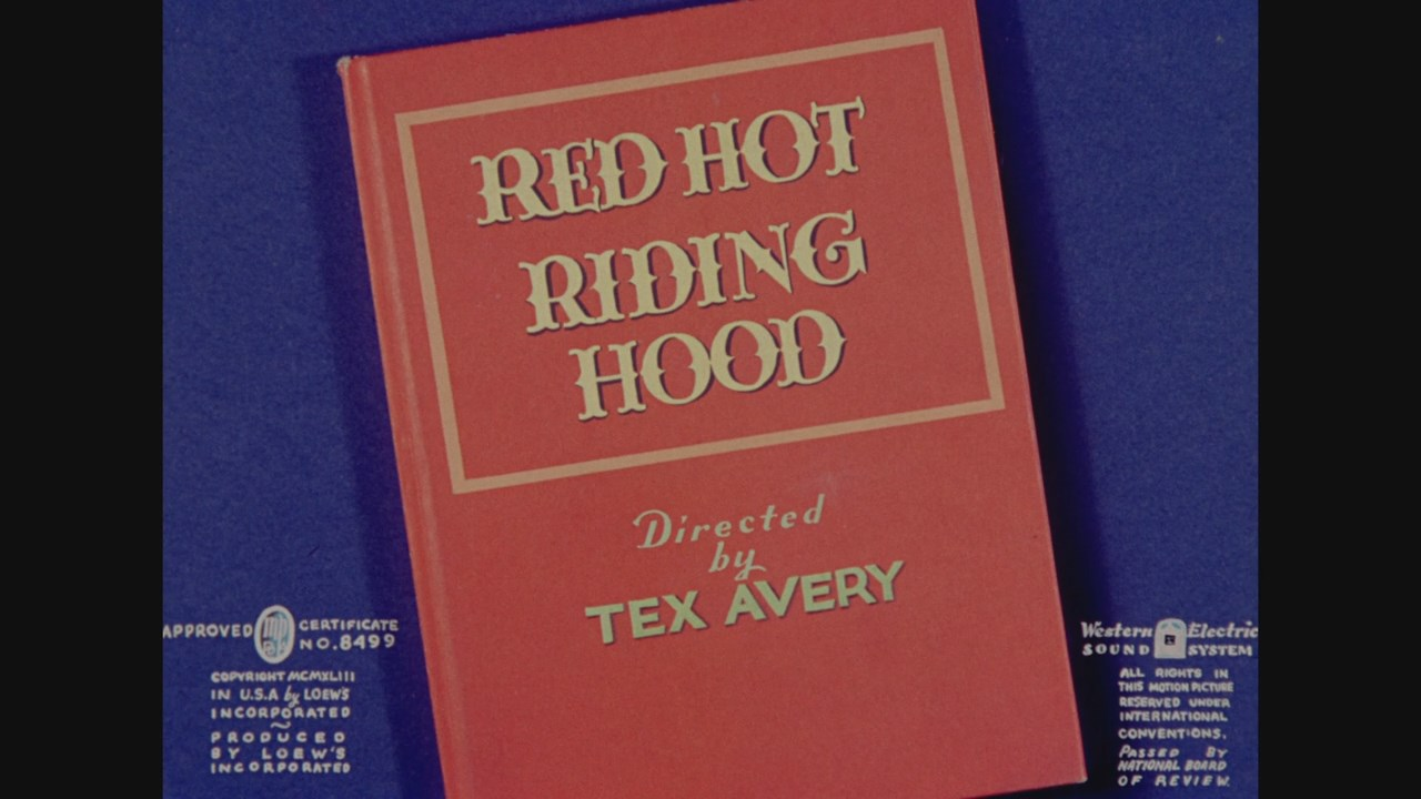Tex Avery Screwball Classics. Volume 1 (1943 - 1951)