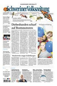 Schweriner Volkszeitung Hagenower Kreisblatt - 01. Juni 2018