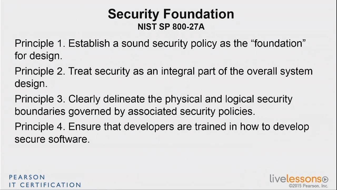 Pearson IT Certification - CISSP  Complete Video Course