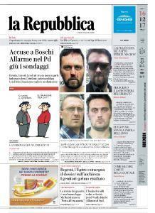 la Repubblica - 16 Dicembre 2017