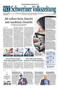Schweriner Volkszeitung Hagenower Kreisblatt - 27. April 2020