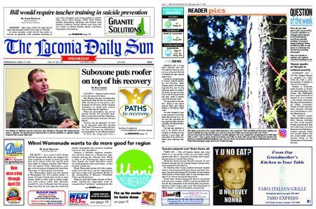 The Laconia Daily Sun – April 17, 2019