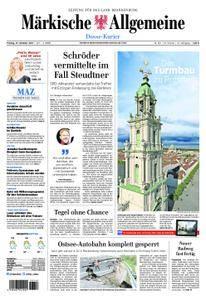 Märkische Allgemeine Dosse Kurier - 27. Oktober 2017