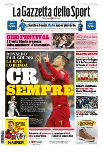La Gazzetta dello Sport – 15 ottobre 2019