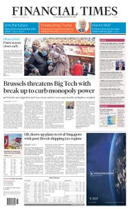 Financial Times Europe - December 16, 2020