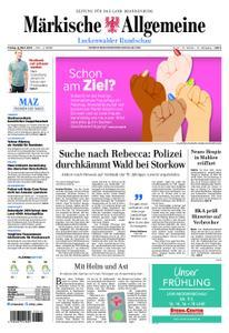 Märkische Allgemeine Luckenwalder Rundschau - 08. März 2019