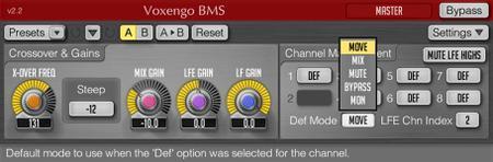 Voxengo BMS v2.3 WiN / OSX