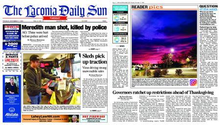 The Laconia Daily Sun – November 17, 2020