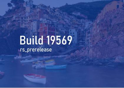 Windows 10 Insider Preview (20H2) Build 19569.1