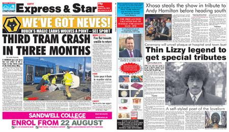 Express and Star City Edition – August 20, 2019