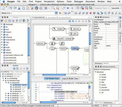 Oxygen XML Editor 13 2 (Mac Os X) / AvaxHome