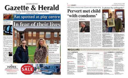 Gazette & Herald – January 09, 2020
