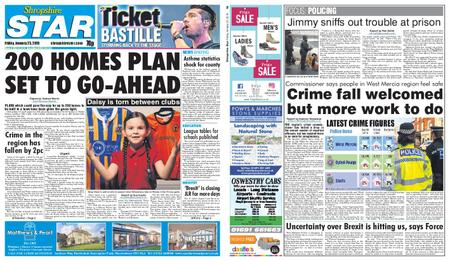 Shropshire Star Shrewsbury Edition – January 25, 2019