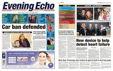 Evening Echo – February 16, 2019