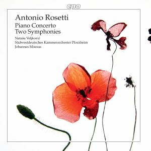 Johannes Moesus - Rosetti: Piano Concerto & 2 Symphonies (2017)