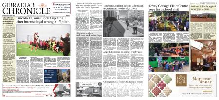 Gibraltar Chronicle – 20 May 2021