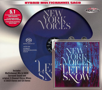 New York Voices - Let It Snow (2013) [2014 Audio Fidelity SACD AFZ5 520]