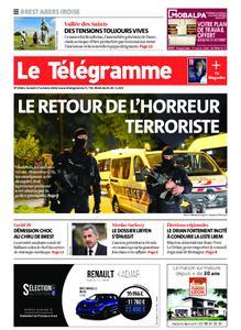 Le Télégramme Brest Abers Iroise – 17 octobre 2020