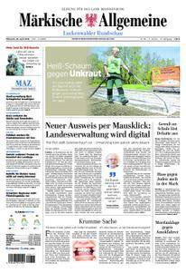 Märkische Allgemeine Luckenwalder Rundschau - 25. April 2018