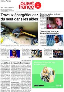 Ouest-France Édition France – 11 septembre 2019
