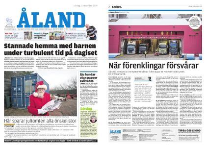 Ålandstidningen – 21 december 2019