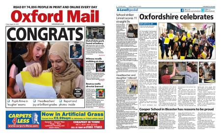 Oxford Mail – August 23, 2019