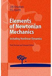 Elements of Newtonian Mechanics: Including Nonlinear Dynamics (3rd edition)