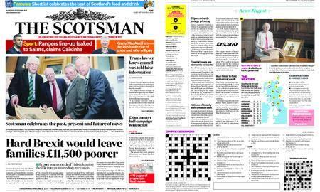 The Scotsman – October 12, 2017