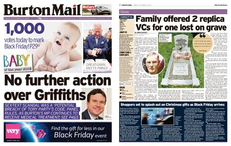 Burton Mail – November 23, 2018