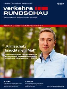 VerkehrsRundschau - 30. September 2019