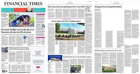 Financial Times USA – September 18, 2017