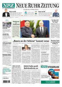 NRZ Neue Ruhr Zeitung Essen-Postausgabe - 26. April 2019