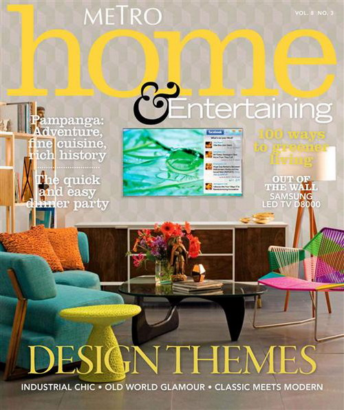 Metro Home & Entertaining - June/July 2011
