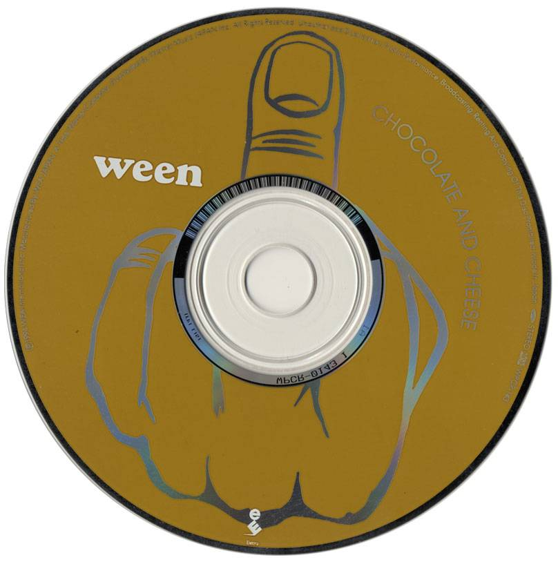 Ween - Chocolate and Cheese (1994) [Japan 1st Press]