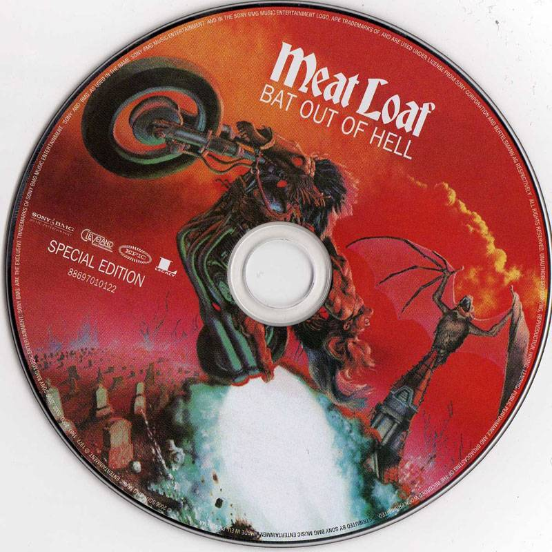 Meat Loaf - Bat Out of Hell (1977) [2006, Special Edition]