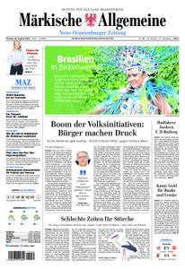 Neue Oranienburger Zeitung - 26. August 2019