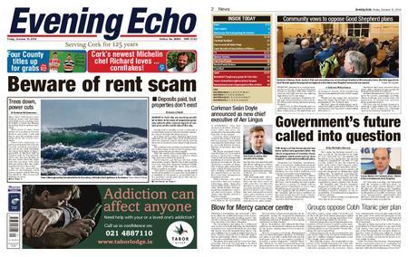 Evening Echo – October 12, 2018